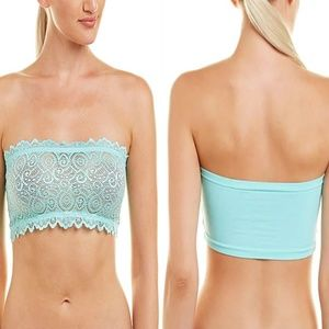 Free People Reversible Seamless Lace Bandeau